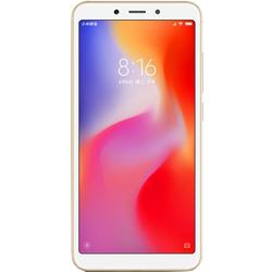 Redmi 6A, Dual SIM, 5.45'' IPS, Quad Core 2.0GHz, 2GB RAM, 16GB, 13MP, 4G, Gold