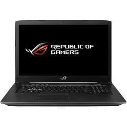 Gaming 17.3'' ROG GL703GE, 17.3 inch FHD 120Hz, Intel Core i7-8750H, 8GB DDR4, 1TB 7200 RPM + 256GB SSD, GeForce GTX 1050 Ti 4GB, FreeDos, Black