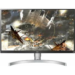 27UK650-W, 27 inch 4K HDR 5 ms Silver-White FreeSync