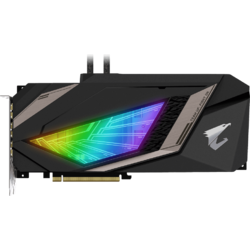 AORUS GeForce RTX 2080 XTREME WATERFORCE W 8GB GDDR6 256-bit