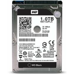 Black, 1TB, SATA-III, 7200 RPM, cache 32MB, 9.5 mm