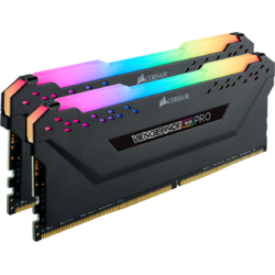 Vengeance RGB PRO, 32GB, DDR4, 2666MHz, CL16, 1.2V, Kit Dual Channel