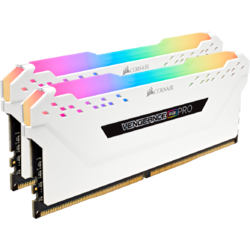 Vengeance RGB PRO, 32GB, DDR4, 2666MHz, CL16, 1.2V, Kit Dual Channel, White