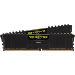 Vengeance LPX Black 16GB DDR4 3200MHz CL16 Kit Dual Channel