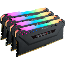 Vengeance RGB PRO, 32GB, DDR4, 3200MHz, CL14, 1.35V, Kit Quad Channel