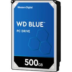 Blue, 500GB, SATA 3, 5400 RPM, cache 8MB, 7 mm