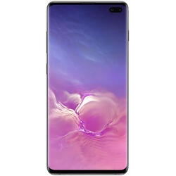 Galaxy S10+ Dual SIM LTE, 6.4 inch, Octa Core, 8GB RAM, 512GB Cvintuplu-Camera, Ceramic Black