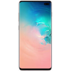 Galaxy S10+ Dual SIM LTE, 6.4 inch, Octa Core, 12GB RAM, 1TB Cvintuplu-Camera, Ceramic White