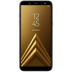 Galaxy A6 2018, 5.6 inch Full HD+, Infinity Display Super AMOLED, Octa Core, 32GB, 3GB RAM, Dual SIM, 4G, NFC, Senzor amprenta, Full Metal Body, Gold