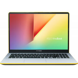 VivoBook S15 S530FA, 15.6 inch Full HD, Intel Core i5-8265U, 8GB DDR4, 256GB SSD, Intel UHD 620, Endless OS, Silver Blue with Yellow Trim