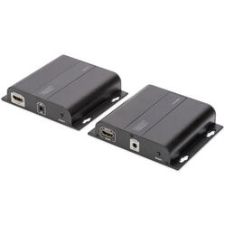 Extender 4K HDMI pana la 120m via CAT / IP (Set)