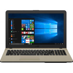 VivoBook 15 X540MA, 15.6 inch HD, Intel Celeron N4000, 4GB DDR4, 256GB SSD, GMA UHD 600, Windows 10 Home, Chocolate Black