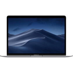 New MacBook Air 13 Retina display 13.3 inch, Amber Lake Y i5 1.6GHz, 8GB, 128GB SSD, GMA UHD 617, MacOS Mojave, Silver