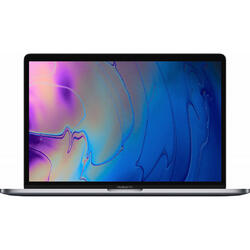 New MacBook Pro 15 Retina with Touch Bar, Coffee Lake 6-core i7 2.2GHz, 32GB DDR4, 256GB SSD, Radeon Pro 555X 4GB, Mac OS Mojave, Silver