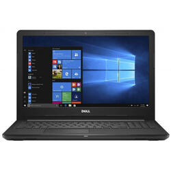 Inspiron 3576, 15.6 inch FHD, Intel Core i7-8550U, 8GB DDR4, 256GB SSD, Radeon 520 2GB, Win 10 Home, Black