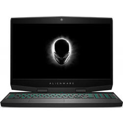Alienware M15, 15.6 inch FHD IPS, Intel Core i7-8750H, 16GB DDR4, 1TB SSHD + 256GB SSD, GeForce GTX 1060 6GB, Win 10 Pro, Silver