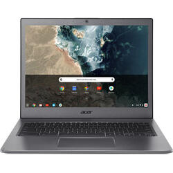 Chromebook CB713-1W, 13.5 inch 2256 x 1504 IPS, Intel Core i5-8250U, 16GB, 64GB eMMC, GMA UHD 620, Chrome OS, Steel Grey