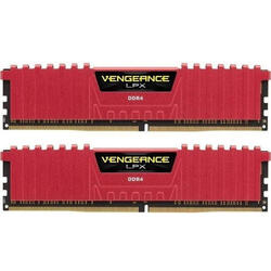 Vengeance LPX Red 16GB DDR4 2400MHz CL16 Kit Dual Channel