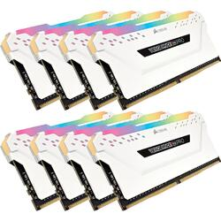 Vengeance RGB PRO White 64GB DDR4 3200MHz CL16 Kit x 8