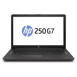 250 G7, HD, Procesor Intel® Core™ i3-7020U (3M Cache, 2.30 GHz), 4GB DDR4, 1TB, GMA HD 620, FreeDos, Dark Ash Silver