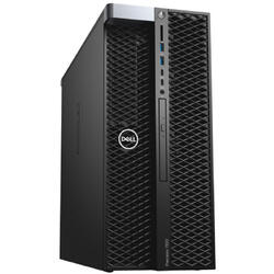 Precision T5820, Intel Xeon W-2133 3.6GHz, 32GB DDR4, 2TB HDD + 256GB SSD, nVidia Quadro P4000 8GB, Win 10 Pro