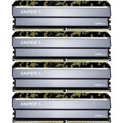 Sniper X 32GB DDR4 2400MHz CL17 1.2V Kit Quad Channel