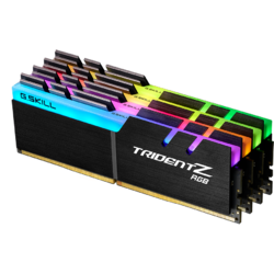 TridentZ RGB 64GB DDR4 3200MHz, CL15 Kit Quad Channel