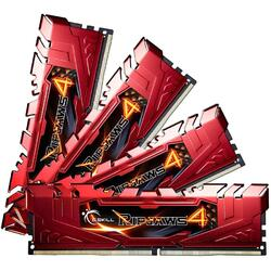 Ripjaws 4 16GB (2x8GB) DDR4 2666MHz, CL15, 1.20V, Kit Dual Channel, Red