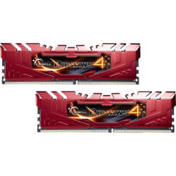 Ripjaws 4 8GB (2x4GB) DDR4 2666MHz, CL15, 1.20V, Kit Dual Channel, Red