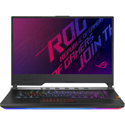 ROG Strix SCAR III G531GU, 15.6 FHD 1920x1080, Core i7 9750H, 16 GB, 512 GB SSD, GeForce GTX 1660 Ti 6 GB, No OS, Black