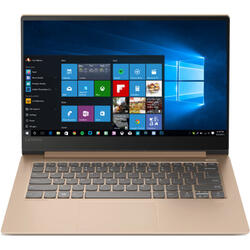 IdeaPad 530S IKB, 14 inch WQHD 2560 x 1440 IPS Glass, Intel Core i7-8550U, 16GB DDR4, 512GB SSD, GeForce MX150 2GB, FingerPrint Reader, Windows 10 Home, Copper