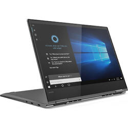 Yoga 730, 13.3 inch FHD IPS Touch 1920 x 1080, Intel Core i7-8565U, 8GB DDR4, 256GB SSD, GMA UHD 620, Win 10 Home, Iron Grey, Active Pen