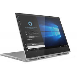 Yoga 730, 13.3 inch UHD IPS Touch, Procesor Intel® Core™ i7-8565U (8M Cache, up to 4.60 GHz), 16GB DDR4, 512GB SSD, GMA UHD 620, Win 10 Home, Platinum Silver, Active Pen