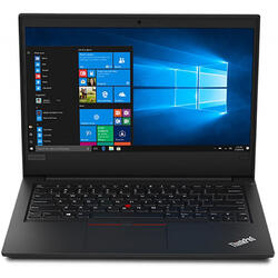 ThinkPad E490, 14 FHD IPS, Procesor Intel Core i7-8565U (8M Cache, up to 4.60 GHz), 8GB DDR4, 512GB SSD, Radeon RX 550X 2GB, Win 10 Pro, Black