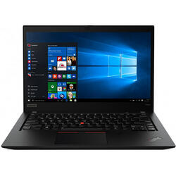 ThinkPad T490s, 14 inch FHD IPS, Intel Core i5-8265U, 8GB DDR4, 256GB SSD, Intel UHD 620, Win 10 Pro, Black