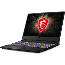 Gaming 15.6'' GE65 Raider 9SE, FHD 240Hz, Intel Core i7-9750H (12M Cache, up to 4.50 GHz), 16GB DDR4, 512GB SSD, GeForce RTX 2060 6GB, No OS, Black