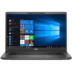 Latitude 7300, 13.3 FHD, Intel Core i7-8665U, Intel UHD 620, 512GB SSD, 16GB, Win10 Pro, Black
