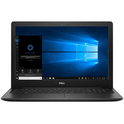 Inspiron 3584, 15.6 inch FHD, Intel Core i3-7020U, 4GB DDR4, 1TB, Radeon 520 2GB, Win 10 Home, Black