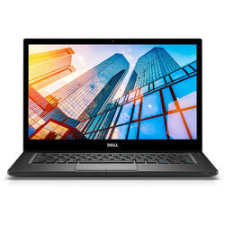 "Latitude 7490, Intel Core i5-8250U, 14"" FHD, 8GB, 256GB SSD, Intel UHD Graphics 620, Win10 Pro, Negru"