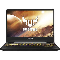 Gaming TUF FX505DU, 15.6'' FHD, AMD Ryzen 7 3750H, 16GB, 512GB SSD, GeForce GTX 1660 Ti 6GB, No OS, Black