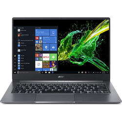 Swift 3 SF314-57, 14'' FHD, Intel Core i3-1005G1, 4GB DDR4, 256GB SSD, GMA UHD, Win 10 Home, Steel Gray