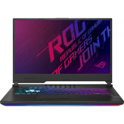 Gaming ROG Strix G G731GU, 17.3'' FHD, Intel Core i7-9750H, 8GB DDR4, 512GB SSD, GeForce GTX 1660 Ti 6GB, No OS, Black