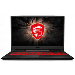 Gaming GL75 9SE, 17.3'' FHD, Intel Core i7-9750H, 8GB DDR4, 512GB SSD, GeForce RTX 2060 6GB, No OS, Black