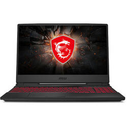 Gaming GL65 9SE, 15.6'' FHD, Intel Core i7-9750H, 8GB DDR4, 512GB SSD, GeForce RTX 2060 6GB, No OS, Black