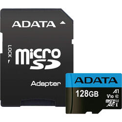 Micro SDXC 128GB Clasa 10 UHS-I + Adapter SD