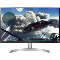 27UL600-W, 27 inch 4K, 5ms, White-Black, FreeSync, 60Hz