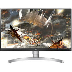27UL650-W, 27 inch 4K, 5ms, White-Black, Freesync, 60Hz