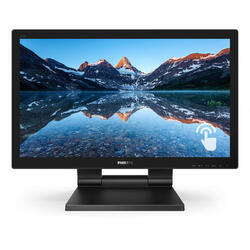 222B9T, 21.5 inch FHD, 1ms, Black, Touchscreen