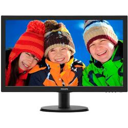 243V5LHSB, 23.6 inch FHD, 1ms, Black, 60Hz