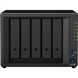 DiskStation DS1019+, Intel Celeron Quad-Core J3455 1,5 GHz, 8 GB DDR3L, 5x HDD, 2x USB 3.0, 2 x Lan, 1 x eSATA